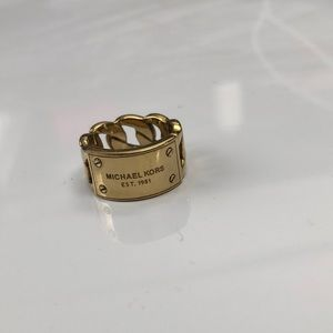 Michael Kors Womens Ring Size 7